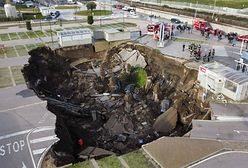 Włochy. W Neapolu zapadła się ziemia. Ewakuowano szpital covidowy