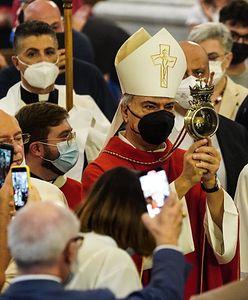 W Neapolu stał się cud. Chodzi o krew św. Januarego