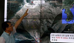 """Próba atomowa Korei Płn. Świat reaguje na testy bomby wodorowej. """"Zagrożenie dla pokoju i bezpieczeństwa"""""""