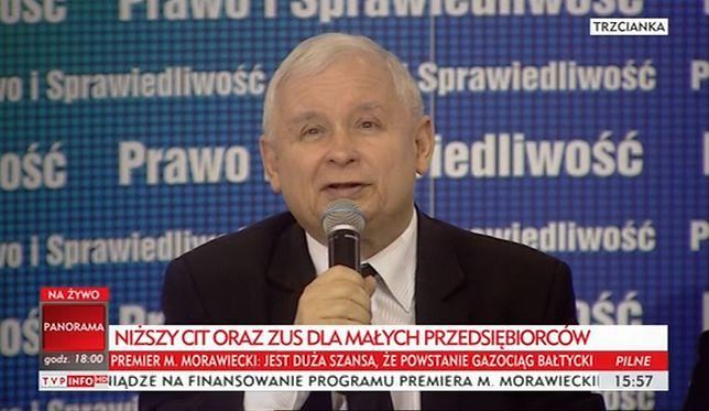 """Jarosław Kaczyński uwiódł Trzciankę. Śmiechy, brawa i """"sto lat"""""""