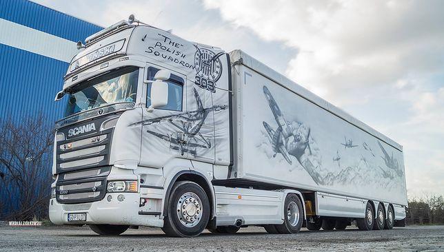 Znamy autorów słynnej już w Europie polskiej ciężarówki z Dywizjonem 303