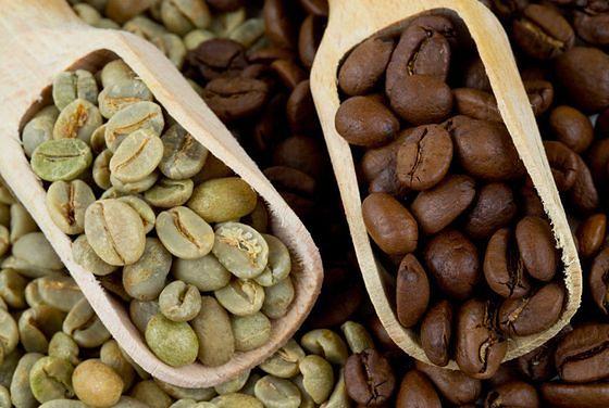Zielona kawa zdrowsza od czarnej - palonej