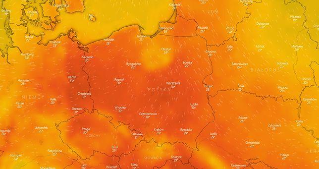 Uwaga na burze i upały! IMGW wydaje ostrzeżenie 2 stopnia na najbliższe dni