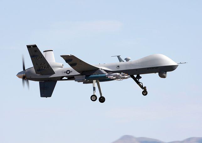 Jemen: Amerykański dron zestrzelony przez rebeliantów [WIDEO]