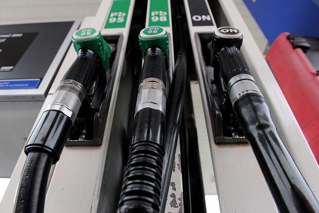 Stacja benzynowa.