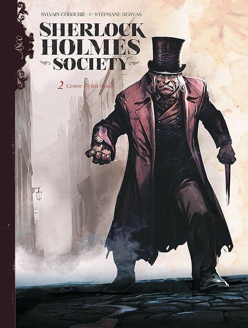 Sherlock Holmes Society – 2. Czarne są ich dusze, Egmont 2019