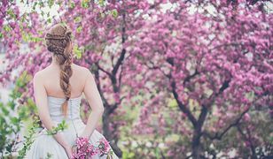 Fryzury ślubne z warkoczem