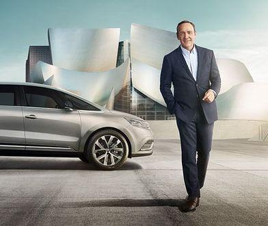 Kevin Spacey wprowadza na rynek nowe Renault Espace