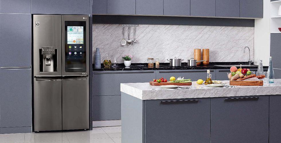 LG zaprezentowało lodówkę, która wie, co znajduje się w środku