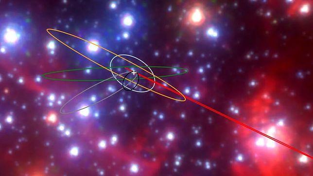 Odkrycie w centrum Drogi Mlecznej. Niezwykłe obiekty krążą wokół czarnej dziury