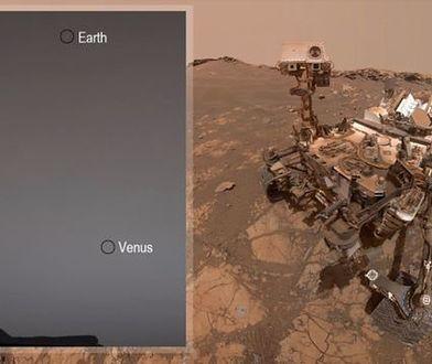 Ziemia i Wenus pierwszy raz na takich zdjęciach. Zrobił je łazik Curiosity NASA