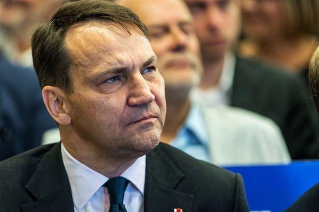 Radosław Sikorski skomentował zmiany w rządzie