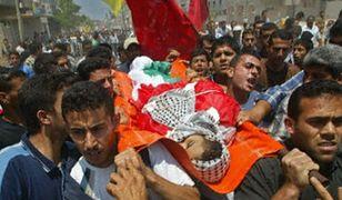 Pogrzeb jednej z palestyńskich ofiar intifady