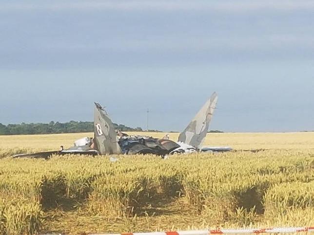 MiG-29 zderzył się w powietrzu z inną maszyną? Dowództwo zdecydowanie zaprzecza