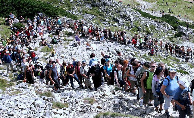 Tłumy na tatrzańskich szlakach to udręka od lat.