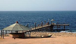 Plaża przy 5-gwiazdkowym hotelu Dreams Beach w Egipcie