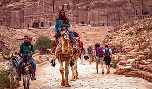 Jordania to kraj pustynny