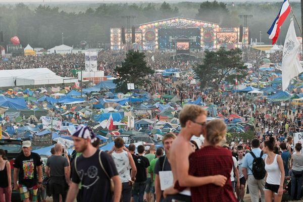 Drugi dzień festiwalu zgromadził 450 tys. osób