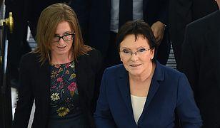Premier Ewa Kopacz i jej córka Katarzyna Kopacz-Petranyuk