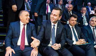 Grzegorz Schetyna, Władysław Kosiniak-Kamysz i Ryszard Petru podczas Kongresu Sejmików Województw