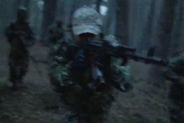 Kadr z promocyjnego materiału ukraińskiej armii