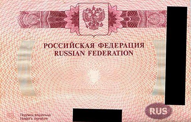"""""""Moskwa planowała przejęcie Krymu""""; Rosjanin z tajemniczym paszportem"""