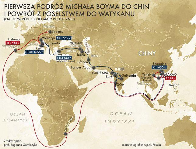 """Michał Boym - """"polski Marco Polo"""""""
