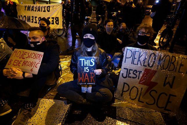 W Polsce nadal trwają protesty kobiet
