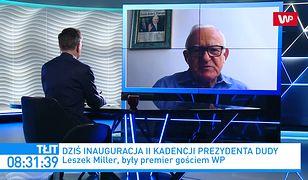 Leszek Miller o prezydencie Dudzie: jedyny wzór, na który się orientuje to Jarosław Kaczyński