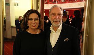 Małgorzata Kidawa-Błońska i Jan Kidawa-Błoński w Teatrze Polskim