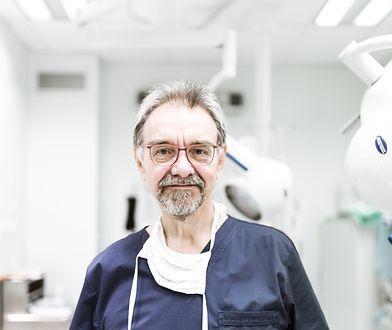Prof. Romuald Dębski walczy o życie.