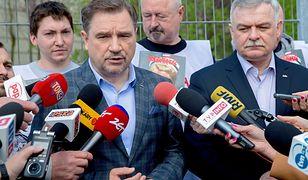 Piotr Duda nie widzi nic niestosownego w wynajęciu Sali BHP ONR-owi