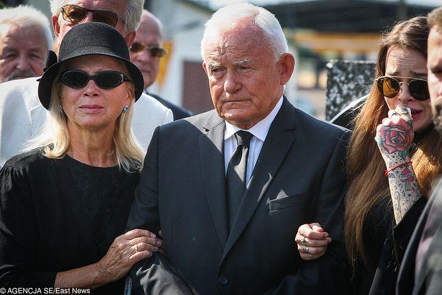 Leszek Miller pożegnał syna na pogrzebie w sobotę