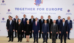 "Spotkanie ""Together for Europe - High Level Summit"" na Zamku Krolewskim."
