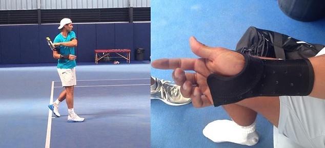 Rafael Nadal Zamienil Zegarek Na Szyne I Wciaz Trenuje Foto Sport Wp Sportowefakty