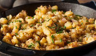 Smażone ziemniaki. Prosto, smacznie, tanio
