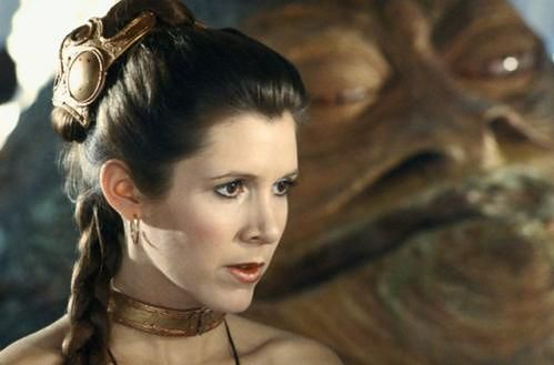 Carrie Fisher fot. Disney