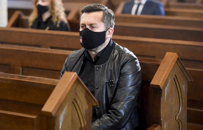 Tak Norbi poszedł na pogrzeb Krawczyka. Fani mocno go skrytykowali, słusznie?