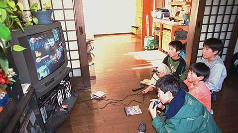 Japończykom znudziły się gry?
