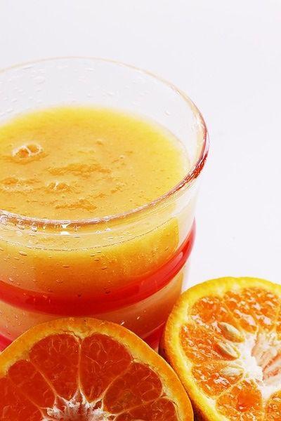 Sok pomarańczowy na przeziębienie