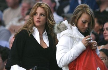 Britney Spears i striptizerki