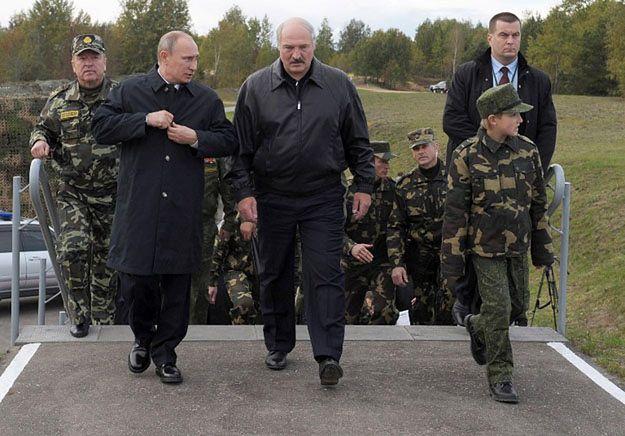 """Widmo rosyjskiej interwencji straszy Białoruś. """"Niczego nie można wykluczyć"""""""