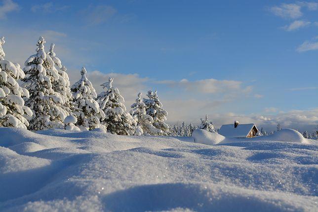 Pogoda. W najbliższy weekend spadnie śnieg