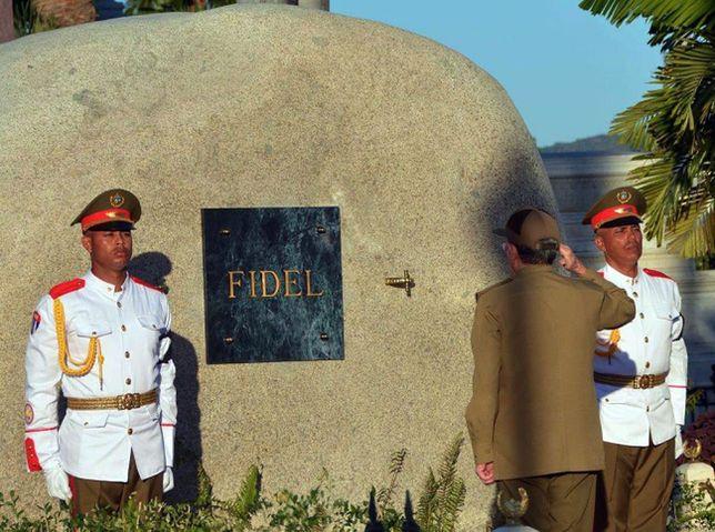 Ostatnie pożegnanie wieloletniego przywódcy Kuby