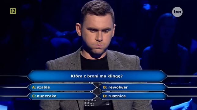 Łukasz narzucił mordercze tempo i przed końcem odcinka zarobił 250 tys. zł. Ciąg dalszy nastąpi