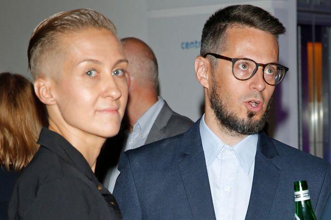 Karolina Szaciłło z mężem Maciejem