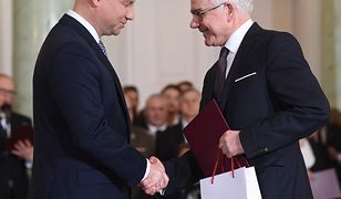 Prof. Jacek Czaputowicz przyjmuje nominację na stanowisko ministra spraw zagranicznych