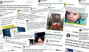 TOP 10 najlepszych i TOP 10 najgorszych tweetów minionego roku