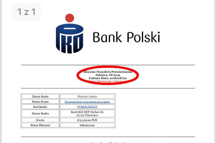 Uwaga na oszustów na OLX. Próbują wyłudzić towar, wysyłając fałszywe potwierdzenia bankowe
