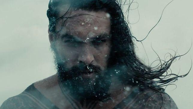 ''Justice League'': Jason Momoa gniewnym Aquamanem